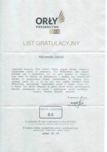 Orły Piekarnictwa 2018 - Laureat konkursu