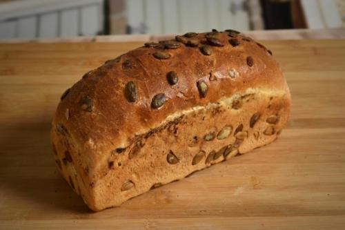 Chleb pszenno-żytni z dynią